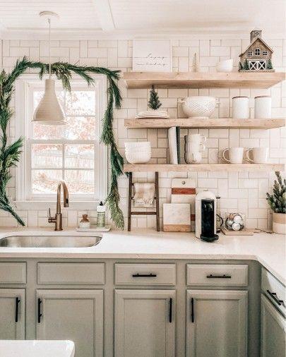 Holiday Kitchen Decor Holiday Kitchen Decor Kitchen Shelf Decor Kitchen Decor