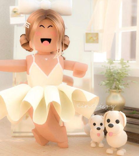 Unicorn Brown Hair Roblox Girl Cute Roblox Avatars Parable Sprinkles Neueste Best Choice Idea