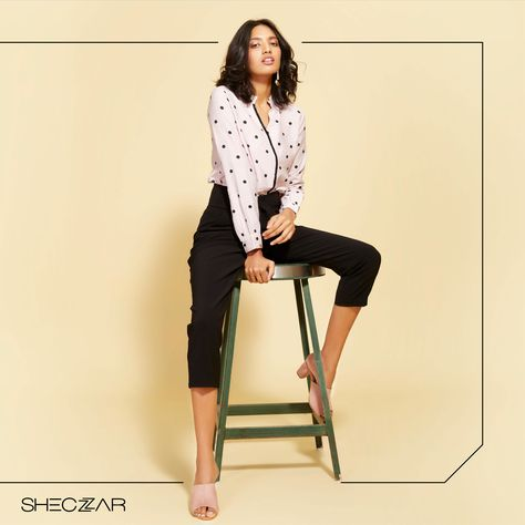 WFH Staples - Choose and pick styles that are not only comfortable but also make you feel good while you work, make sure you put them in your line of sight when organising your closet.  #WFH #SelfQuarantine #SocialDistance #WorkFromHomeLife #Sheczzar #SheczzarFashion #ShoppingBrand #WesternWear #UniqueStyle #CropTop #ClothingBrand #YouGotItYouThoughtIt