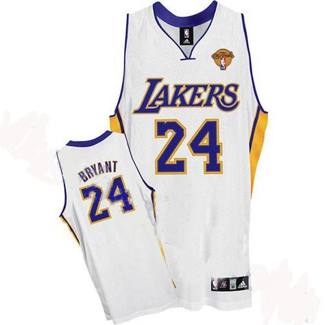 competitive price 1533a 970a3 Kobe Bryant Jersey, Los Angeles Lakers  24 Champion Patch Youth White Jersey  US 20