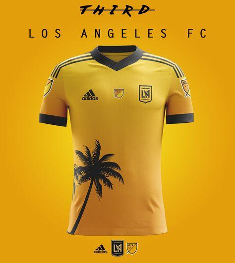 2b3ac5bc71d34 Los Angeles FC - Kits concept on Behance