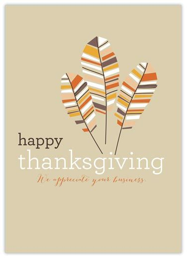 10 Hope Is A Feather Thanksgiving - Thanksgiving Cards from CardsDirect