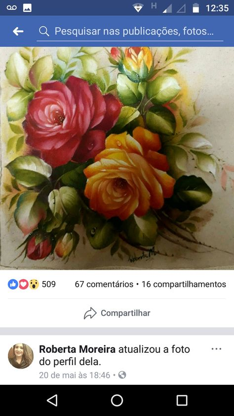 Imagem De Pintura En Tela Por Rina Maiz Bracamonte Riscos Para