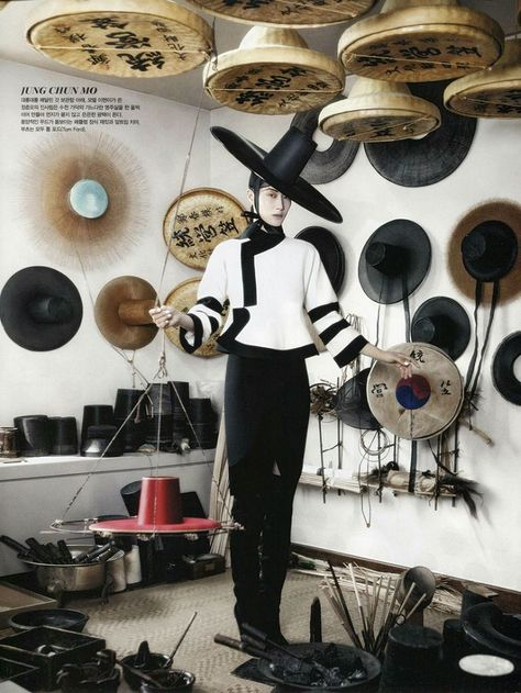Vogue Korea August 2013 : Fashion into Crafts