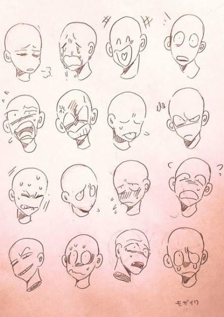 Super Drawing Faces Tutorial Cartoon Sketch 49 Ideas Facial Expressions Drawing Drawing Expressions Drawing Face Expressions