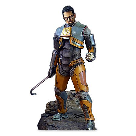 1 4 Scale Gordon Freeman Sculpture From Half Life 2 Gordon