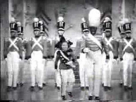 Bill Bojangles Robinson and Shirley Temple (1938) tap dancing