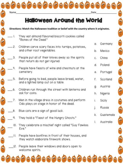 FREE Halloween Trivia game - perfect for your upcoming party ...
