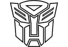 Image Result For Rescue Bots Coloring Pages Transformers Coloring Pages Transformer Logo Autobot Symbol