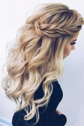 Prom Hairstyles Here Are The Best Ideas For 2018 See More Http Lovehairstyles Com Prom Hairstyles With Images Wedding Hair Down Night Out Hairstyles Down Hairstyles