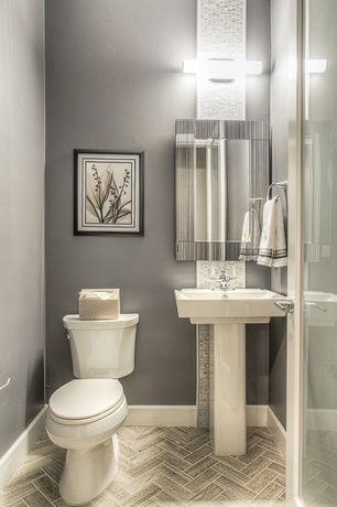 Modern Powder Room With Bliss Iceland