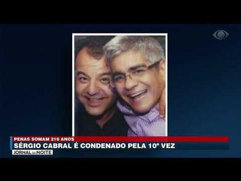 Sérgio Cabral é condenado pela 10ª vez - YouTube