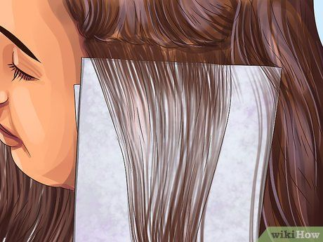 Image Titled Apply Highlight And Lowlight Foils To Hair Step 8 Diy Highlights Hair Home Highlights Hair Hair Highlights And Lowlights