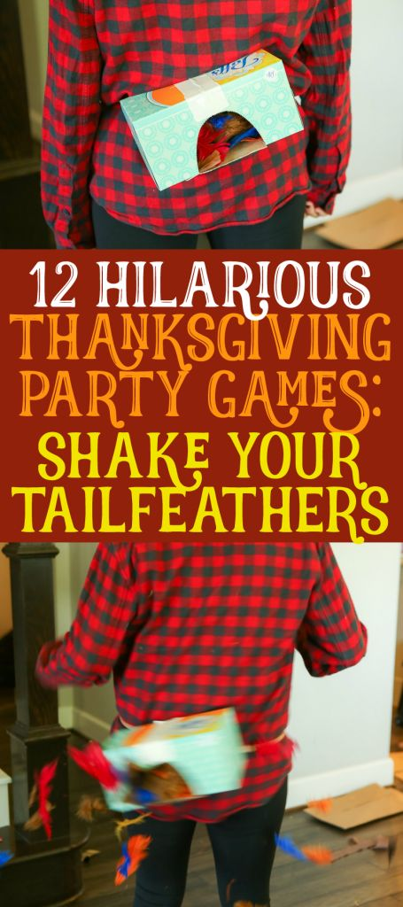 12 Hilarious Thanksgiving Games Everyone Will Love - - The best Thanksgiving games ever! 12 hilarious Thanksgiving party games that both kids and adults will love - perfect for Thanksgiving or Friendsgiving! Thanksgiving Family Games, Thanksgiving Traditions, Family Thanksgiving, Thanksgiving Parties, Outdoor Thanksgiving, Thanksgiving Quotes, Hosting Thanksgiving, Decorating For Thanksgiving, Toddler Thanksgiving Crafts