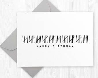 Funny Happy 50th Birthday Printable Card