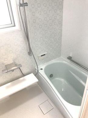 築30年のタイル張り浴室をシステムバスに改装しました 姫路市 s様邸 浴室改装工事 費用 100万円 工期 8日 改装 タイル張り リフォーム