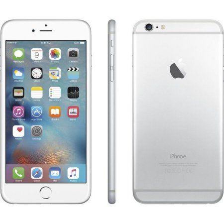Apple Iphone 6 Plus 16gb Refurbished Smartphone Silver Loghomeplans Apple Iphone 6s Plus Iphone Apple Iphone 6s
