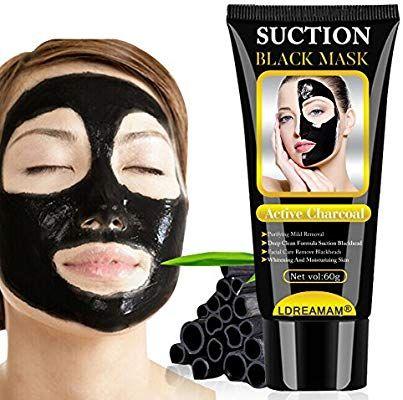 maschera facciale nera punti neri