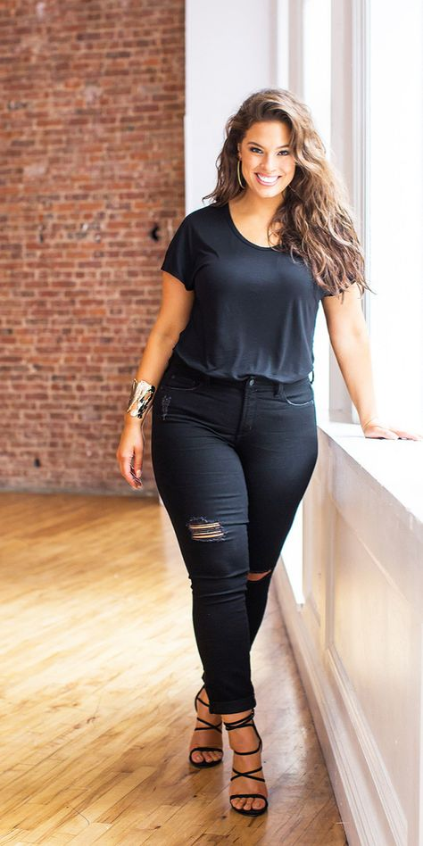 Top Ten Beautiful and Famous Plus Size Models - Plus Size Fashion Trends