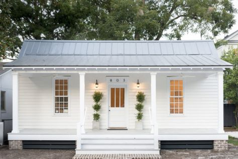 Small cottage homes - Modern White Cottage Exterior Style – Small cottage homes