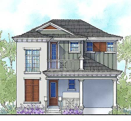 Plan 33155zr Two Bed Vacation Cottage House Plan Cottage House Plans Cottage Homes House Plans