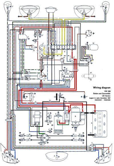 1968 Vw Bug Wiring Data Wiring Diagram