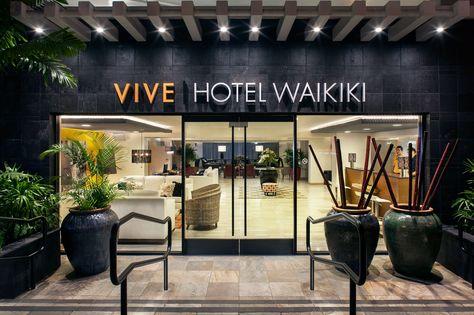Vive Hotel Waikiki Honolulu Hi Oahu Hawaii Hawaii Honeymoon