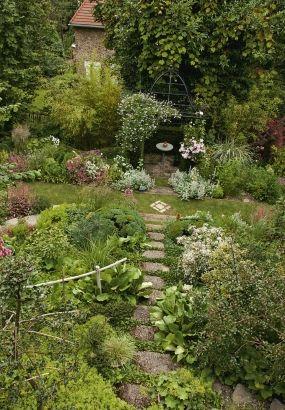 Avant Apres Un Jardin Mille Univers Jardin En Pente