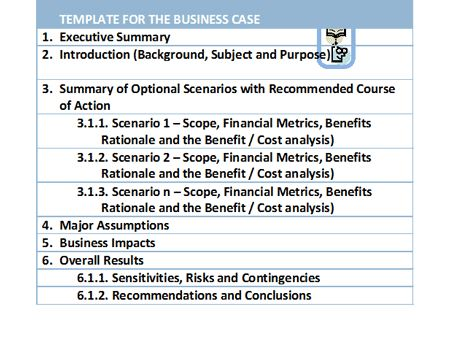 Business Case Template  Service Design    Service Design