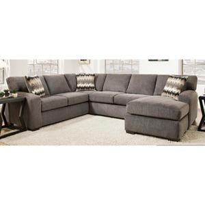 2-Piece Sectional in Perth Smoke | Nebraska Furniture Mart | Home improvement | Pinterest | Perth Nebraska furniture mart and Basements  sc 1 st  Pinterest : nebraska furniture mart sectionals - Sectionals, Sofas & Couches