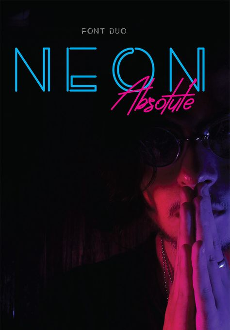 Neon Absolute - Font Duo + Extra Font