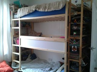 Wellies And Dreams Ikea Hack Ikea Bunk Bed Ikea Bunk Bed