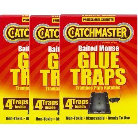 Household Essentials Glue Traps Mouse Glue Trap Bait