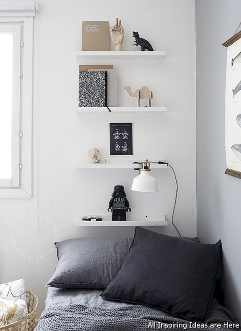 65 Easy Bedroom Shelves Design Ideas Minimalist Bedroom Design