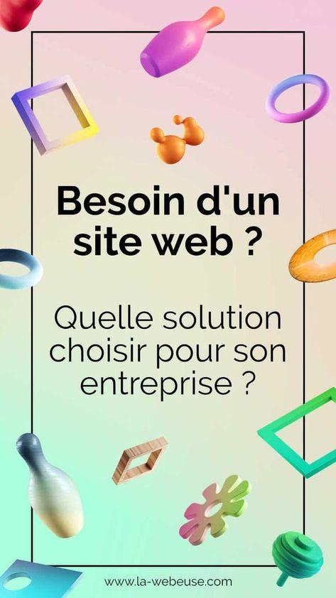 Quelles solutions pour créer son site web ?