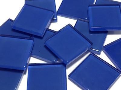 Art Craft Supplies Blue Glass Mosaic Tiles 2.5cm No. 1