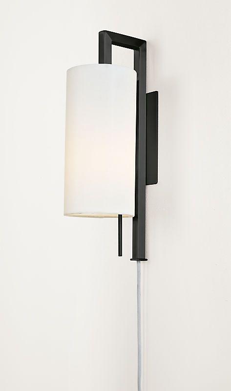 Leslie Plug In Wall Sconce Modern Wall Sconces Modern Lighting