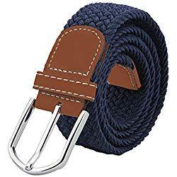 """Cinturón de cuero tejer con cintura 24-48/"""" orgánico de crin relleno hecho a mano"""