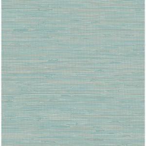 Nuwallpaper Tibetan Grasscloth Teal Blue Wallpaper Sample Nus3337sam The Home Depot In 2021 Seagrass Wallpaper Aqua Wallpaper Wallpaper Samples