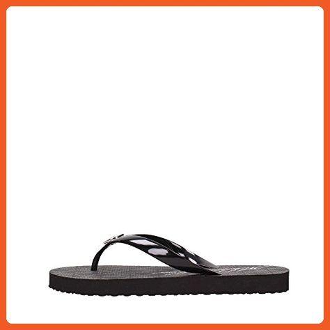 55c064e92564 Michael Kors Jet Set Rubber Flip Flops Black Size 7 MK Womens - Sandals for  women ( Amazon Partner-Link)