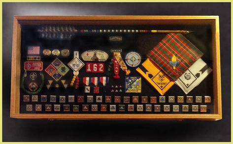 Explore custom Cub Scout and Eagle Scout Shadow Boxes, Shadow Boxes for Boy Scouts and Girl Scouts by Greg Seitz Woodworking.