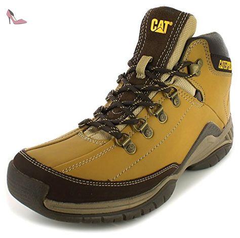 6a1fc9560529ec Caterpillar , Sandales Compensées homme - Jaune - Straw, 41 EU - Chaussures  caterpillar (*Partner-Link)