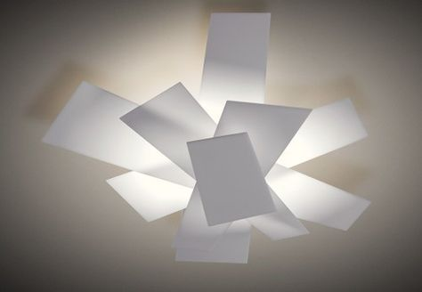 Plafoniera Foscarini : Foscarini big bang parete soffitto light & others