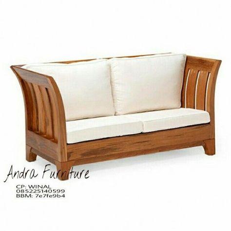 äpplarö 3 Seat Modular Sofa Outdoor Brown Stained Frösön