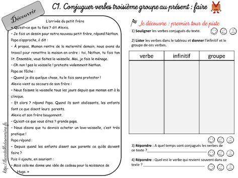 30 Idees De Conjugaison Conjugaison Verbe Conjugue Verbe