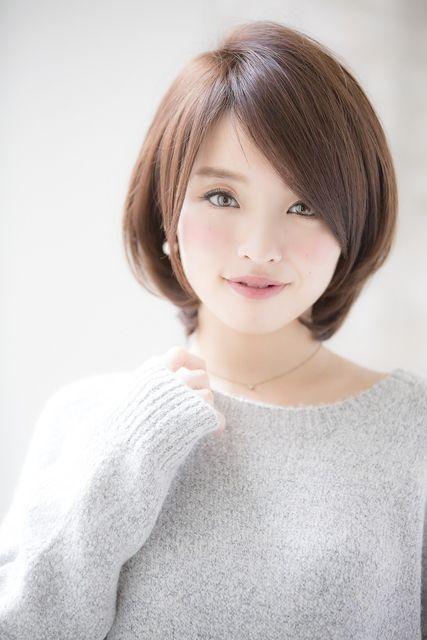 エラ張りさん に似合う髪型とは ショートからロングまで 小顔に見えるヘアスタイル集 ヘアスタイル 姫カット ビューティー