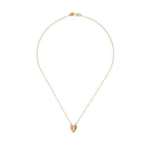 Keep It Safe Locket Necklace - Rose Gold - £195 by Rob Ryan at Tatty Devine