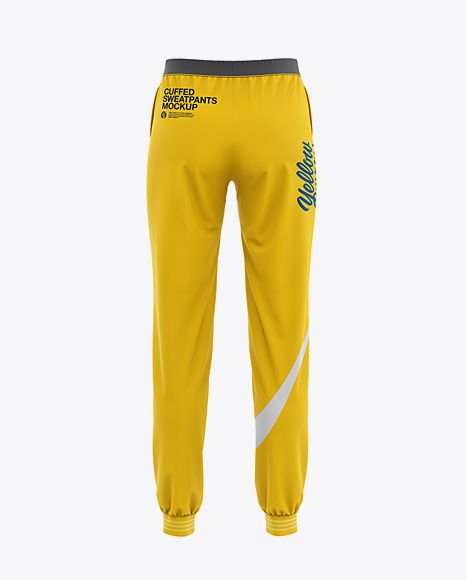 Download Women S Cuffed Sweatpants Mockup Back View In Apparel Mockups On Yellow Images Object Mockups Clothing Mockup Shirt Mockup Design Mockup Free