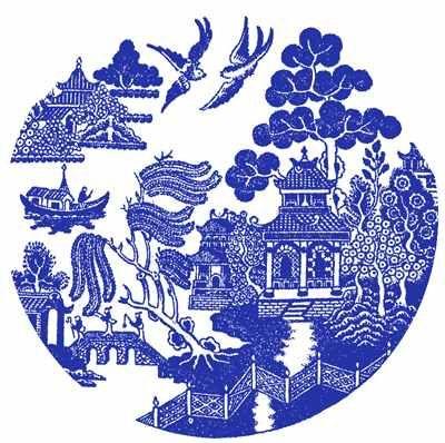 Blue Willow China Pattern