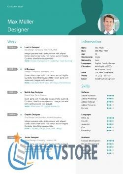 Swiss Style Resume Template Download For Word Resume Template Clean Resume Template Downloadable Resume Template